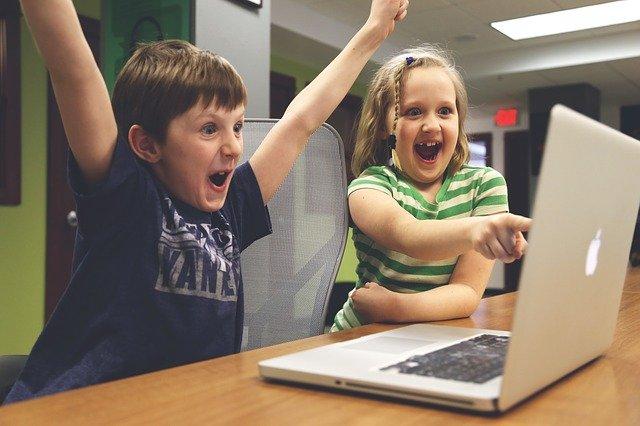 děti po vítězství