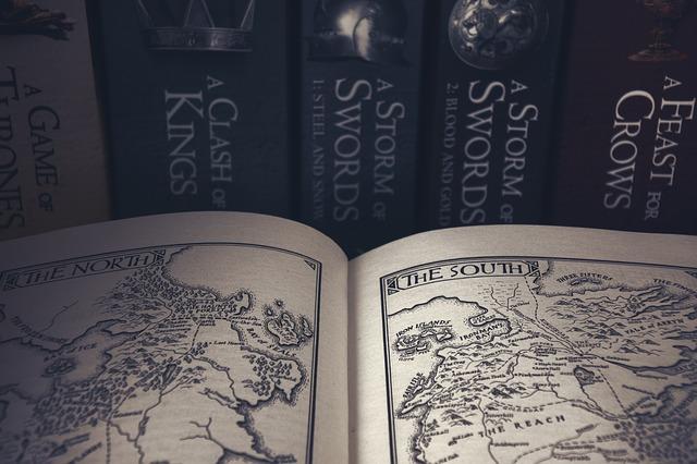 mapa v knize