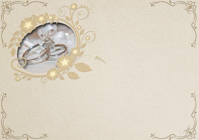 luxusní vykrajované svatební oznámení