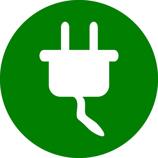 zástrčka symbol