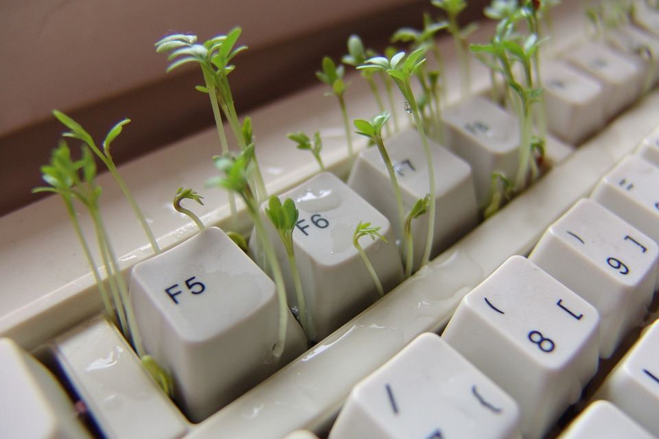 klíčky v klávesnici
